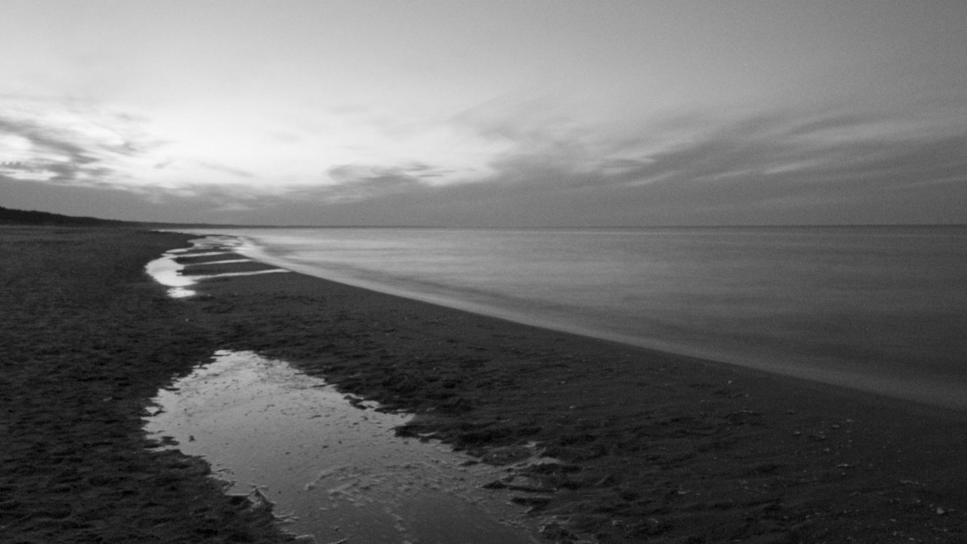 Blaue Stunde an der Ostsee (Usedom)