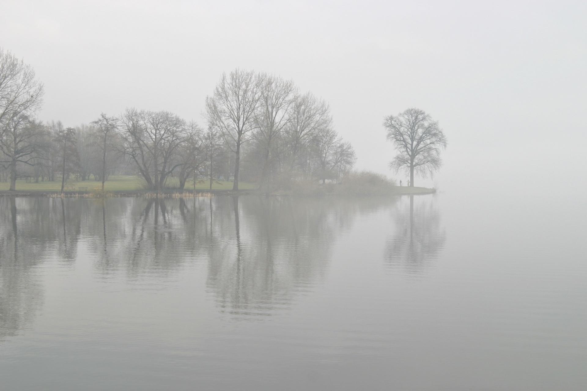 Im Schweriner Schlosspark