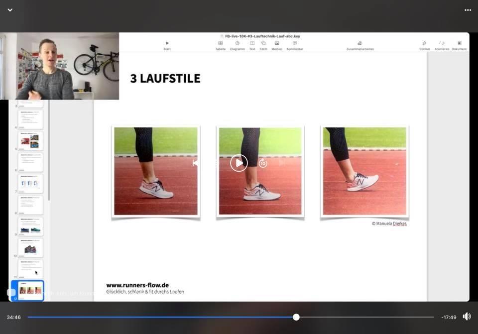 Screenshot aus einem der Workshops mit Kevin Besser